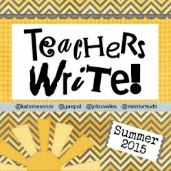 Teachers Write! 2015
