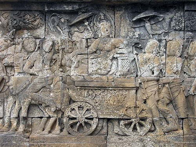 borobudur bas relief Scientific Explanations About the Mysteries of Borobudur Development