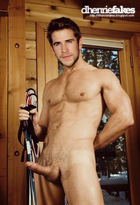 from Sebastian liam hemsworth naked fake
