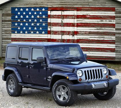 Jeep Named Most Patriotic Brand