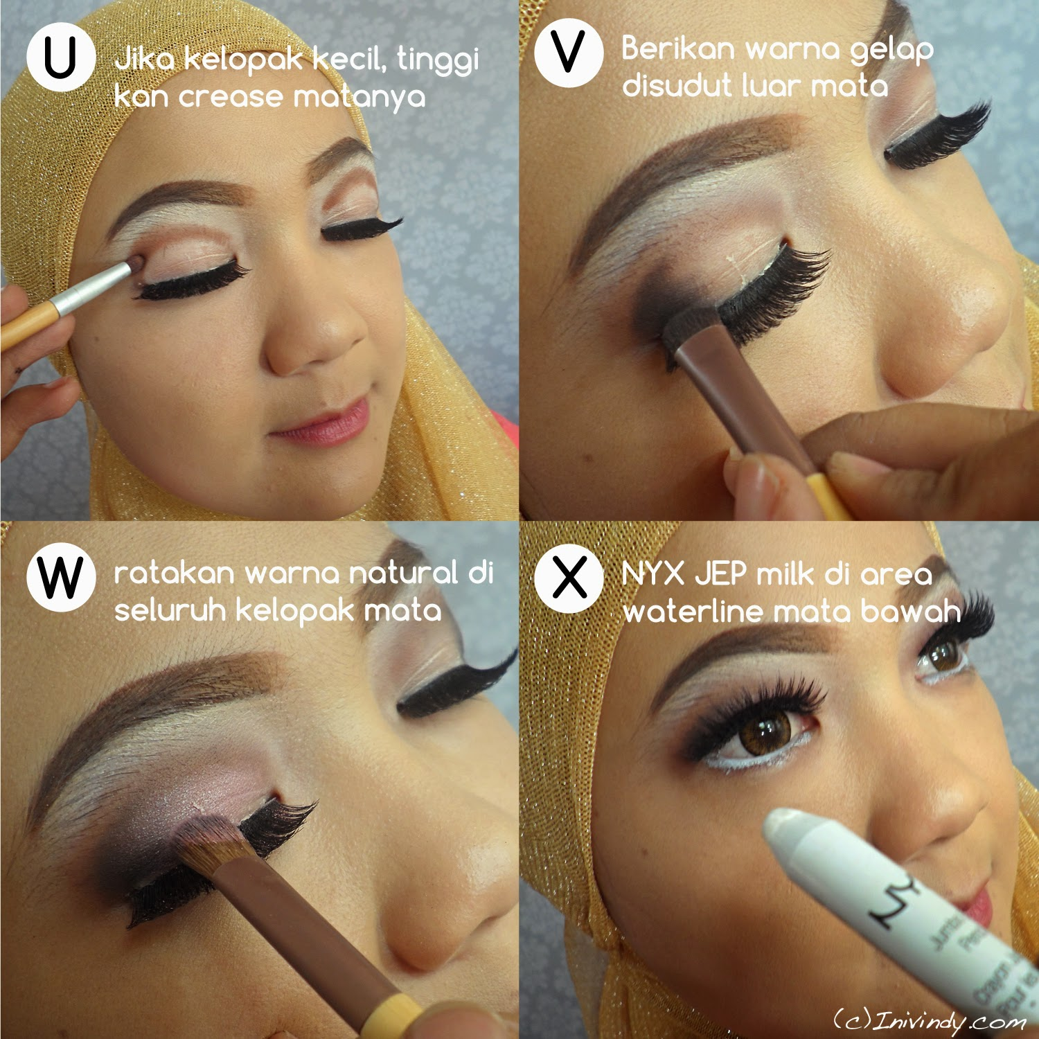 Ke natural pesta Tutorial Natural Pesta Make Vindy  Ajaib: Up Yang ke makeup Ini Untuk