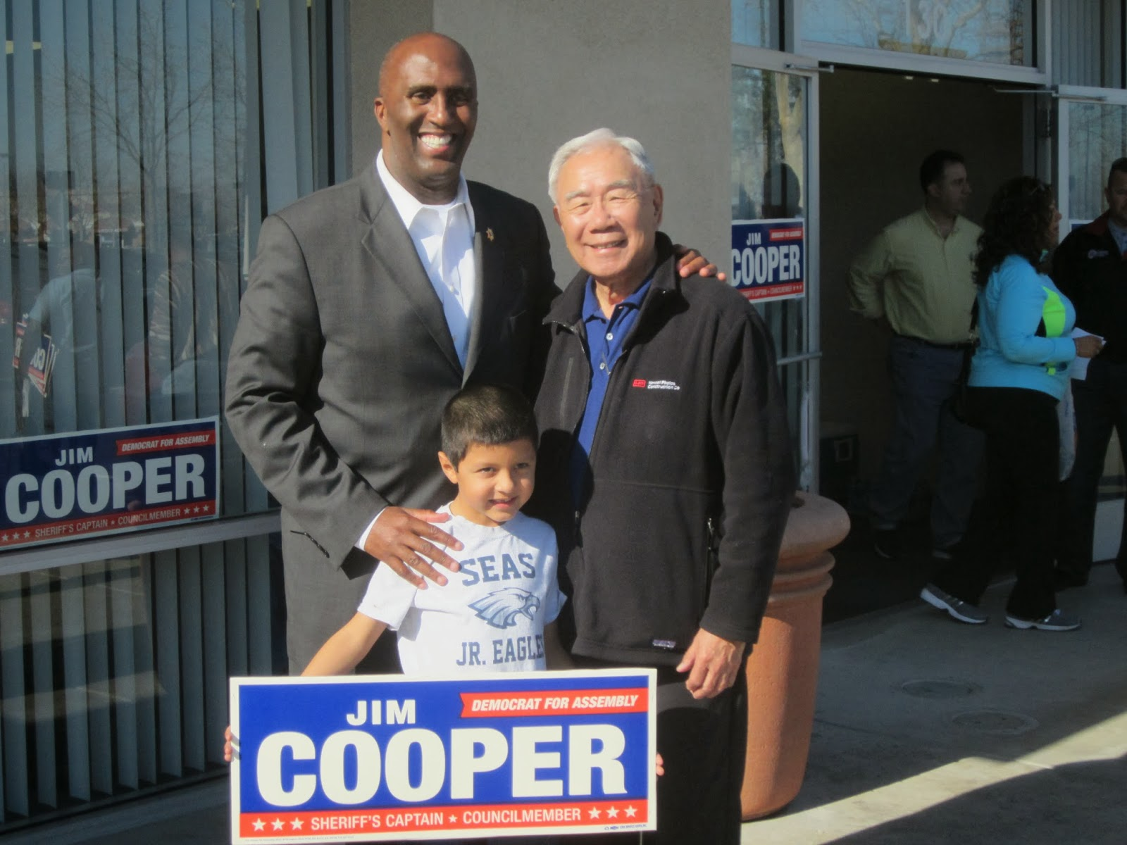 Cooper Kicks-Off Ninth Assembly Campaign