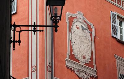 Sundial in Mondovì Breo