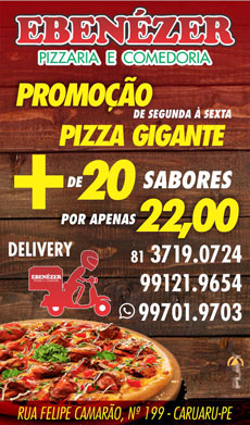 EBENÉZER PIZZARIA E COMEDORIA
