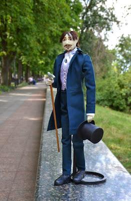 ADdoll_Robert_7 Сэр Роберт авторская текстильная шарнирная кукла Алёны Дороховой