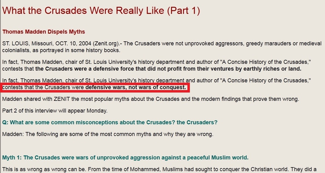 how why the crusades were The crusades were a series of military campaigns organised by christian powers in order to retake jerusalem and the holy land back from muslim control there would be eight officially sanctioned crusades between 1095 ce and 1270 ce and many more unofficial ones.