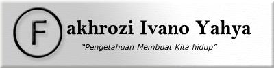 Fakhrozi Ivano Yahya