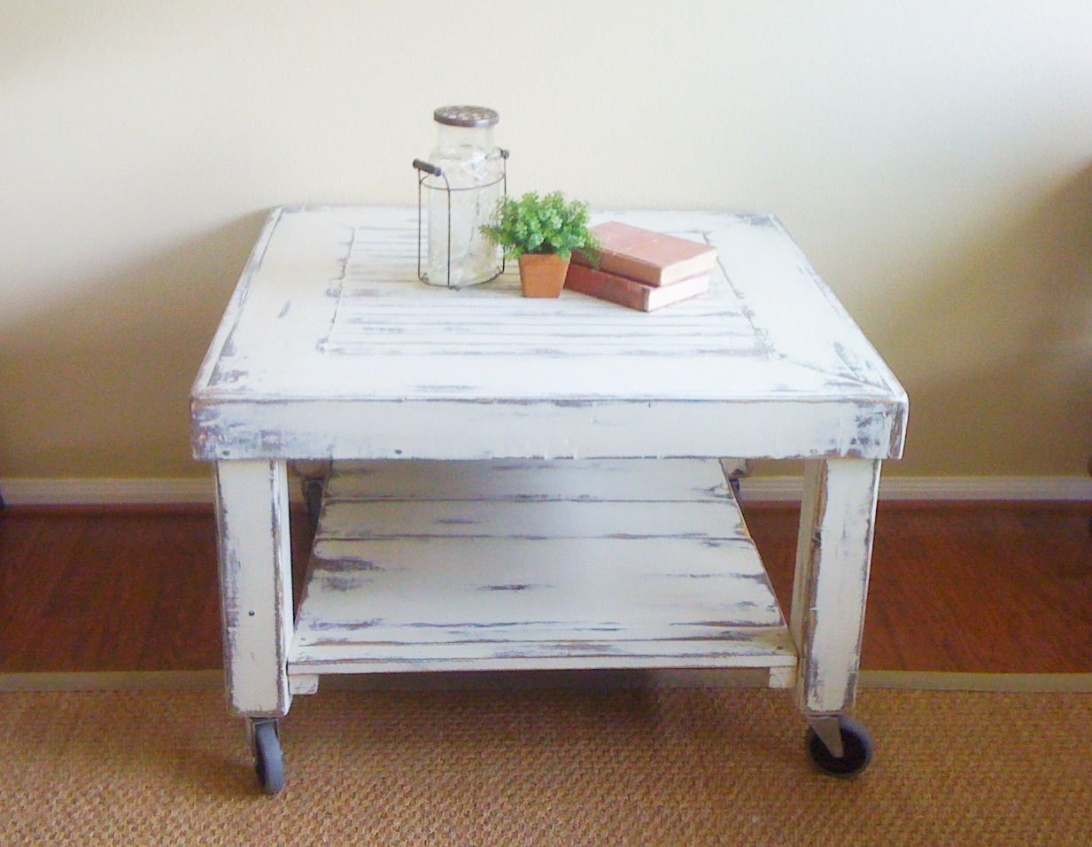 Saving Grace Industrial Chic Coffee Table