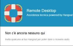 Desktop remoto negli Hangout GOogle+
