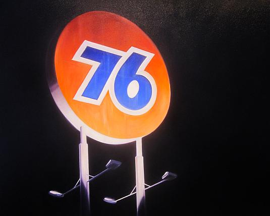 Midnight 76, Eric Nash, Skidmore Contemporary Art, Route 66