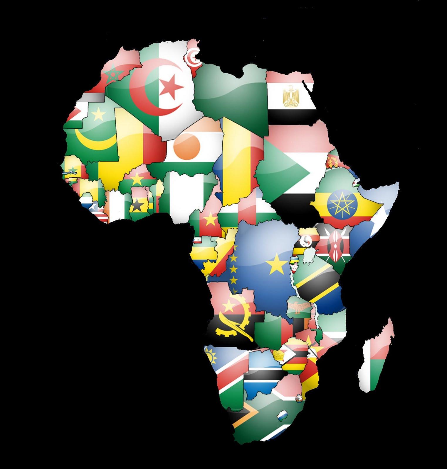 A QUE NO SABIAS ESTO DE EL REY LEON Africa_Flag_Map_normal