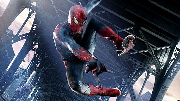 Peter Parker in The Amazing Spider-Man 2012 Movie