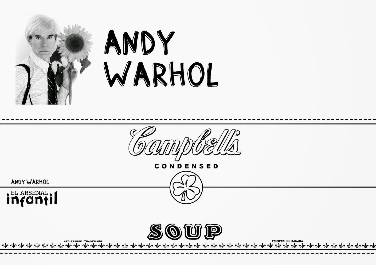 el arsenal infantil: ANDY WARHOL 2 | 29 NOV 2014