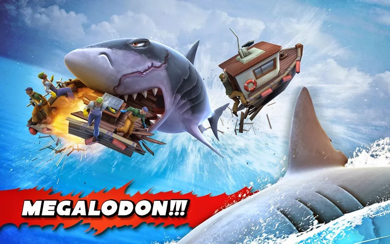 Hungry Shark Evolution v3.0.8 Mod