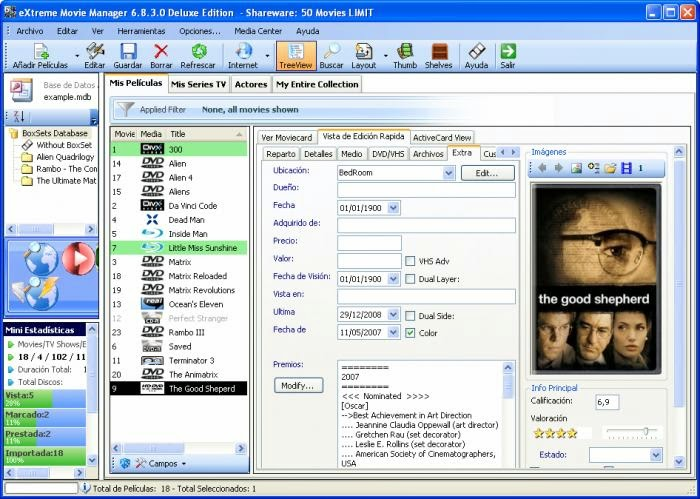 Download Software Extreme Movie Manager 8.3 Final Terbaru