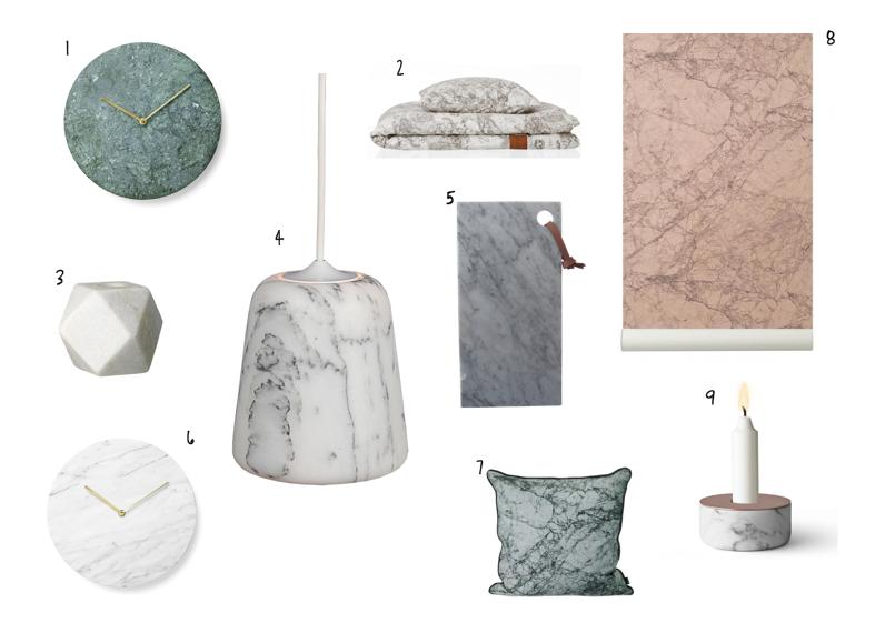 skærebræt i marmor