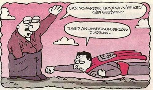 Superman Sıkılmış