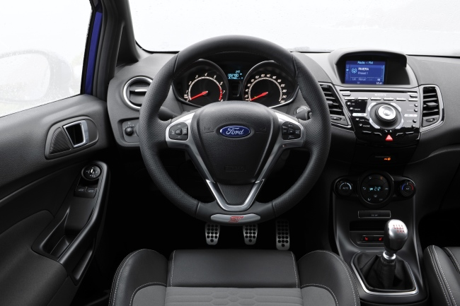 Ford Fiesta ST Sporty Interior