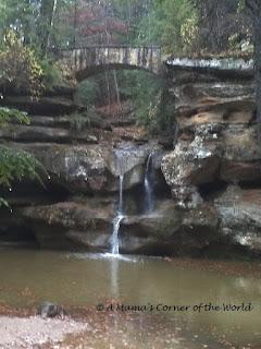 Cedar Falls in Ohio's Hocking Hills