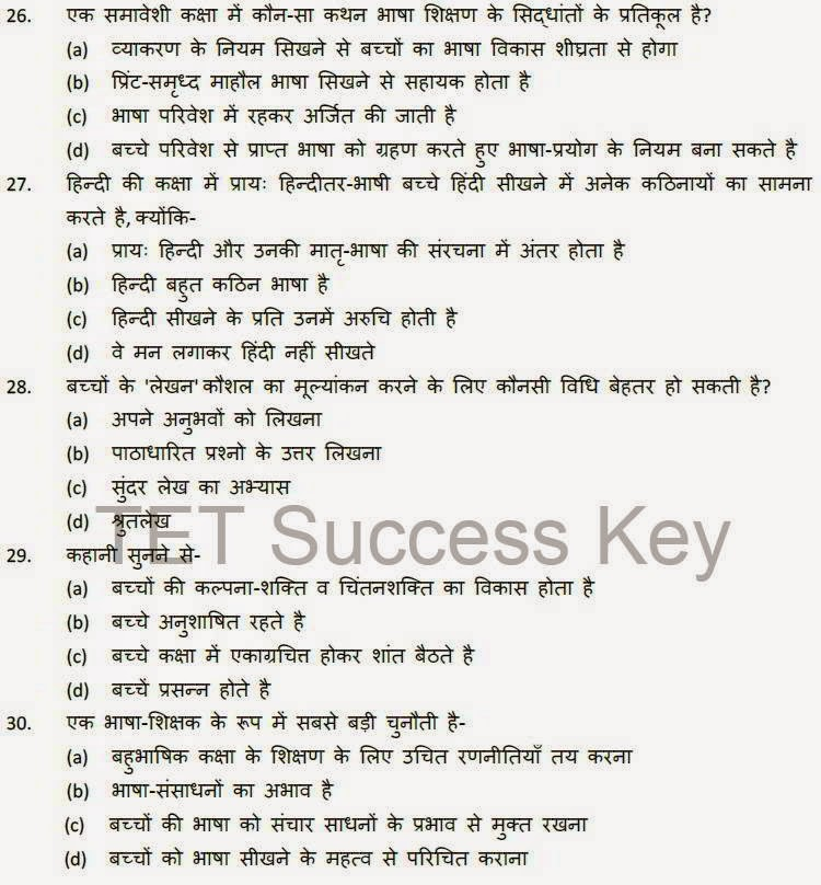 CTET Practice Paper Set (Hindi) For paper 1 and 2,  Practice Sets, Guess Papers, TET Study Material, PDF Exam Notes.