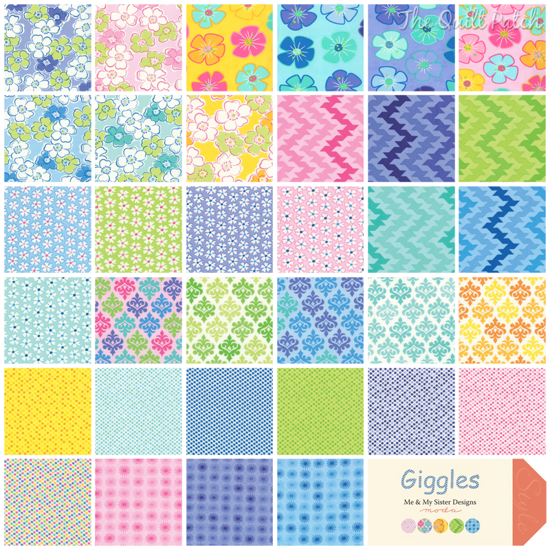 Moda Giggles - Me and My Sister Designs -  The Quilt Patch