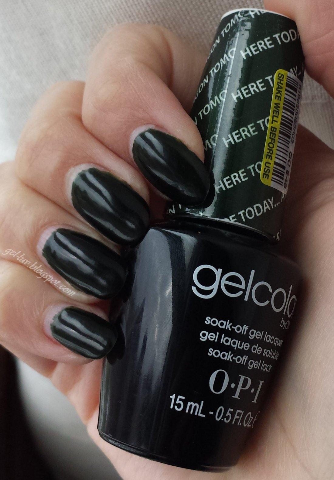Opi Gel Nail Polish Color Chart 2016 To Bend Light