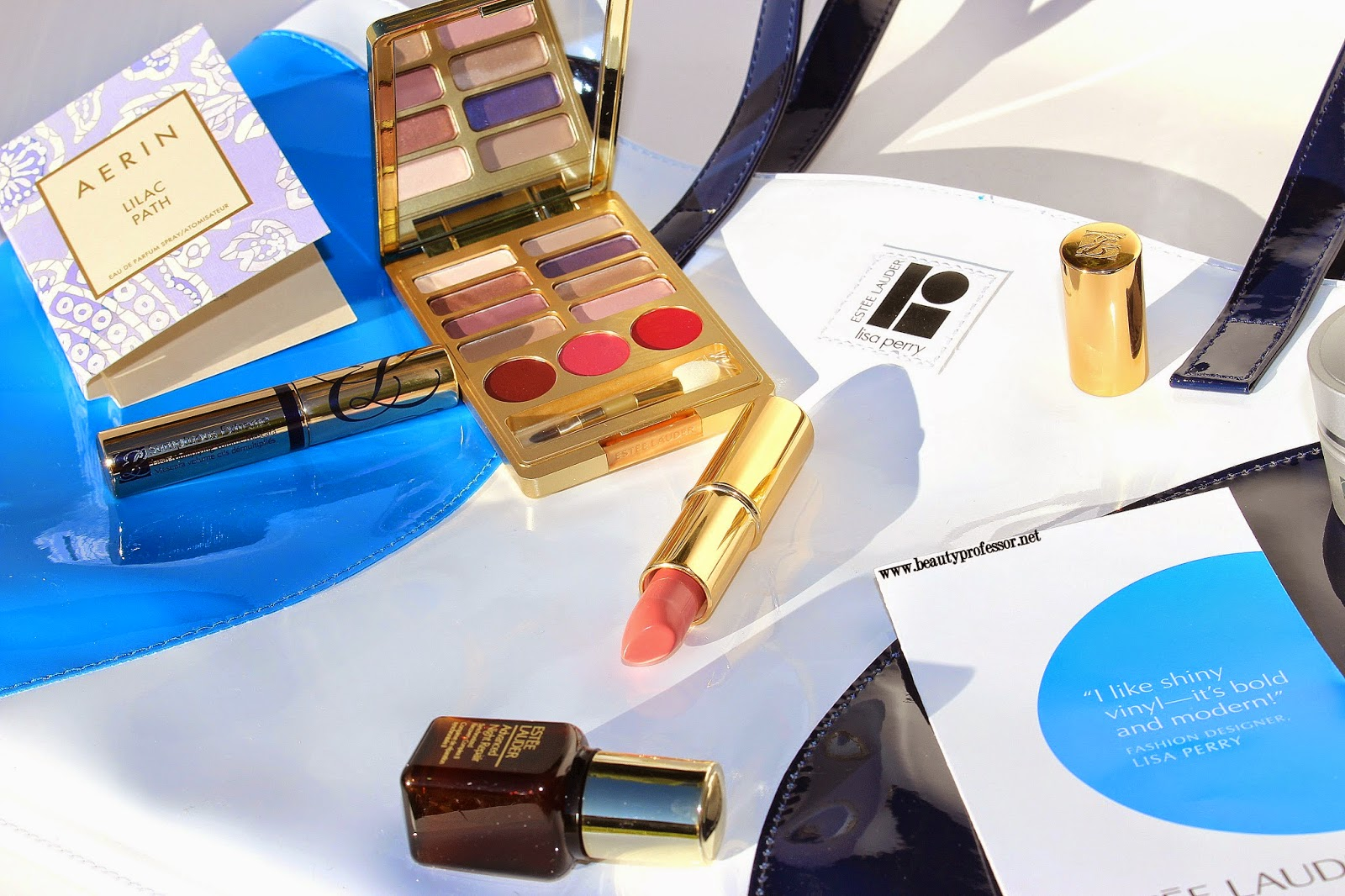 sublime Estee Lauder + Lisa Perry LE Spring 2015 gift with purchase