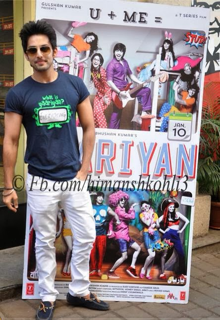 new off screen pics of yaariyan lead actor himansh kohli