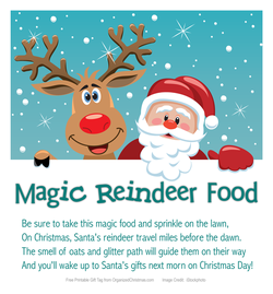 Tips From A Mom of 3: Magic Reindeer Food: Sprinkle on your Lawn on ...
