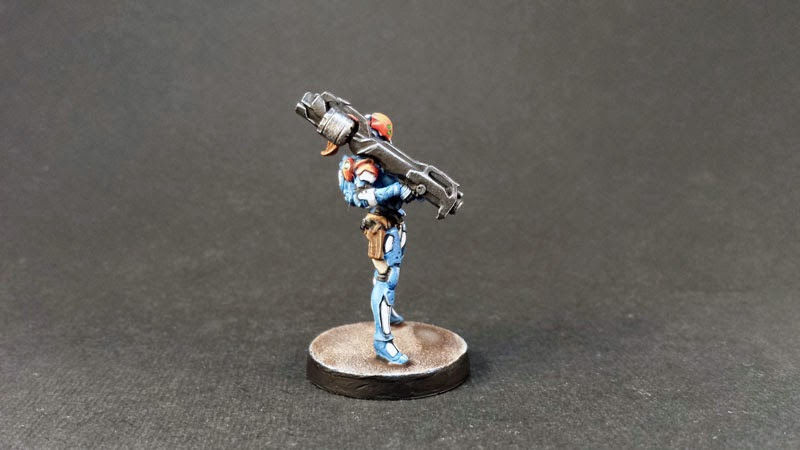NEOTERRA BOLTS - PANOCEANIA - INFINITY THE GAME - MISSILE LAUNCHER 5