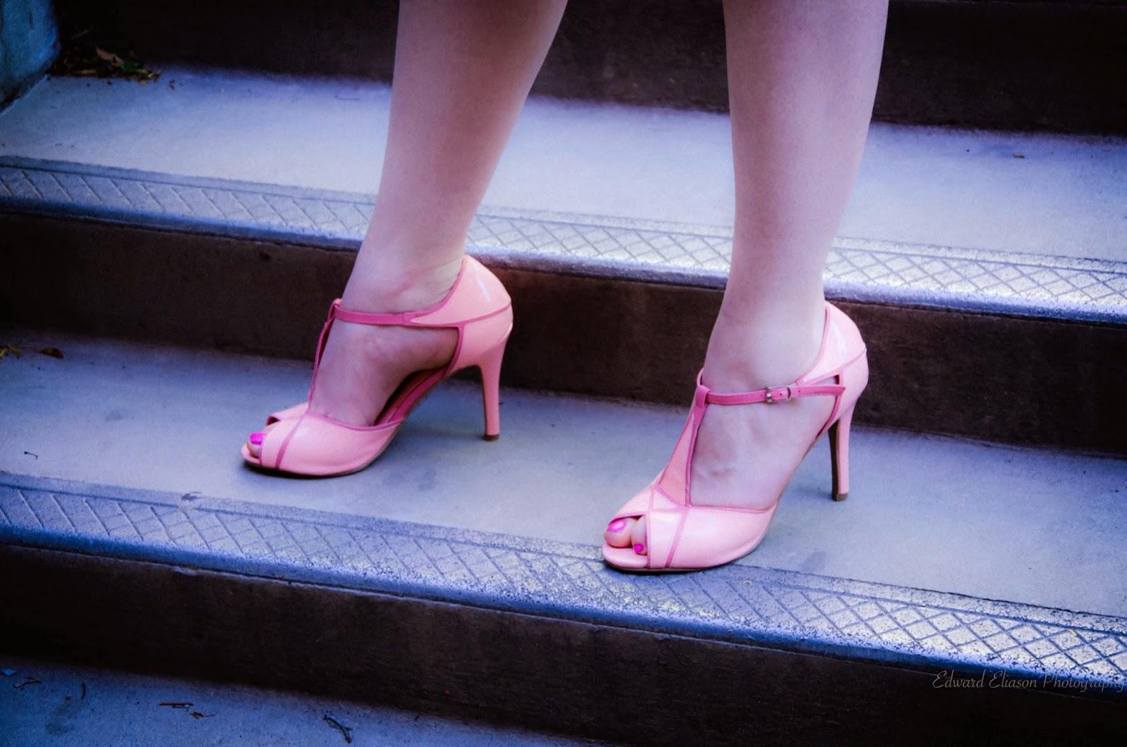 affordable fashion, Edward Eliason Photography, ami clubwear, amiclubwear, antonio melani, Aubrey Jacquard  dress, cheap heels, dillards, dress, heels, jacquard dress, nordstrom fashion, pink dress, pretty heels,