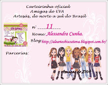 Carteirinha do Grupo Amigas do EVA
