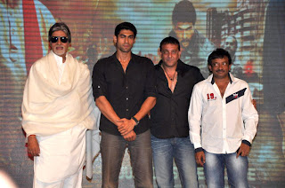 Amitabh, Sanjay at 'Department' movie press meet