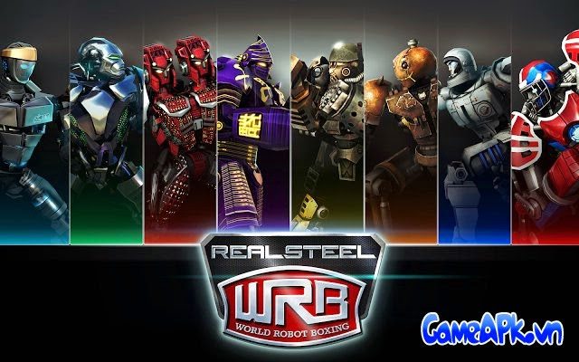 Real Steel World Robot Boxing v10.10.196 hack full tiền, vàng cho Android