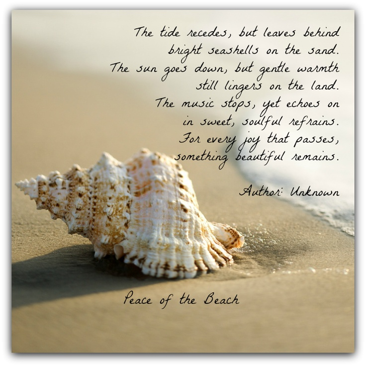 Beach Quotes And Poems Quotesgram