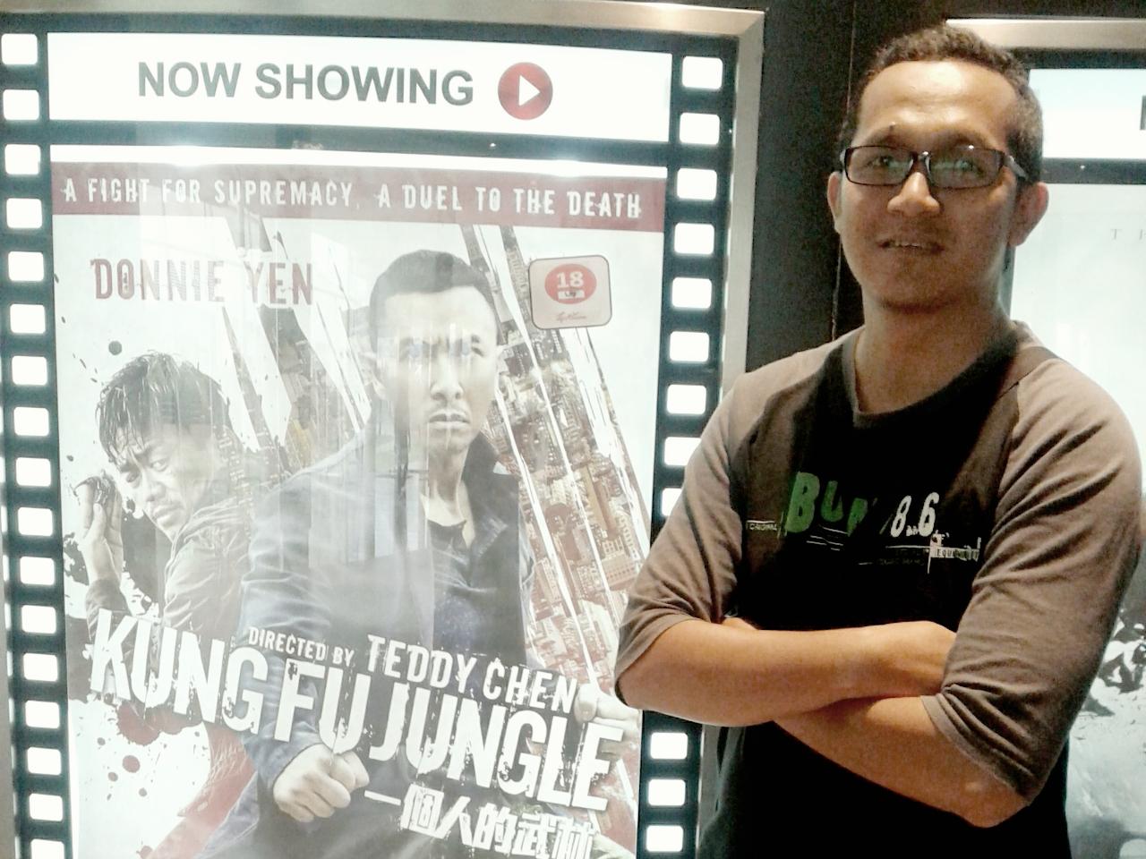 Menonton Wayang  Kungfu Jungle