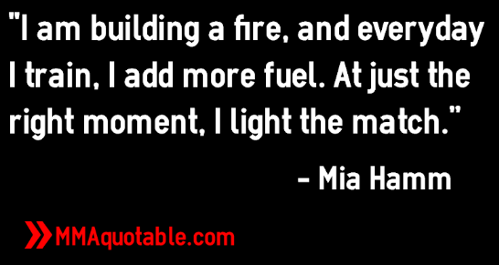 Inspirational Quotes By Mia Hamm. QuotesGram
