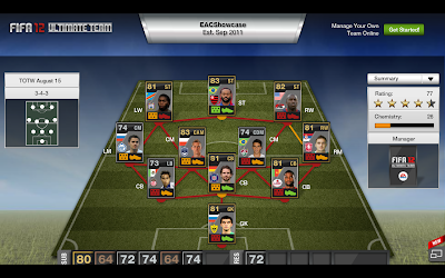 TOTW 48 - Team of the Week - FIFA 12 Ultimate Team
