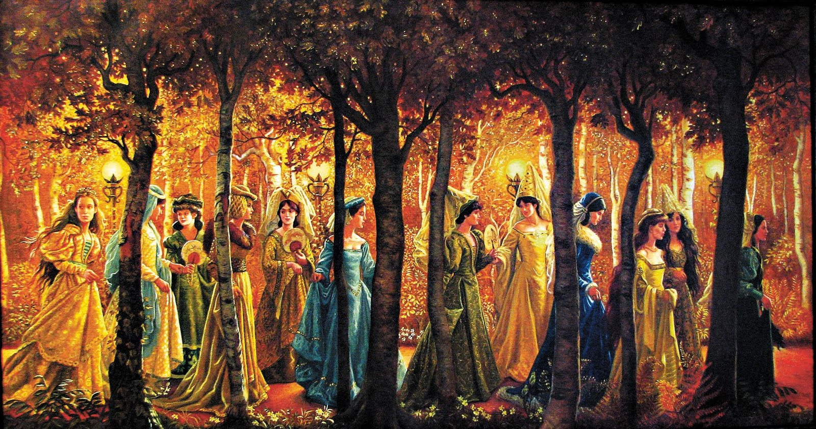 an analysis of the book the twelve dancing princesses The twelve dancing princesses long ago although the king locked the twelve princesses in their bedroom each night purchase this book.