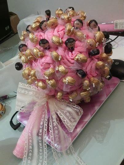 Bouquet bola con mango