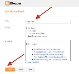 Cara Membuat dan Memasang Widget Artikel Terbaru / Recent Post di Blog