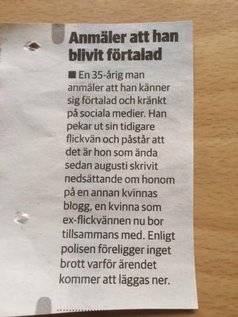 flickvän ljuger om ex Söderhamn