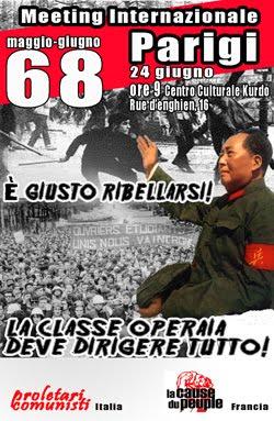 Meeting Internazionale sul Maggio/Giugno '68 Francese