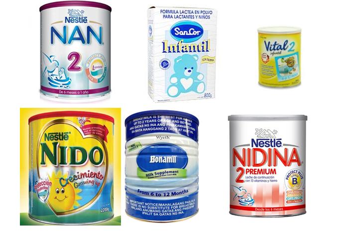 leche de soya para bebes:
