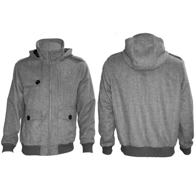 Clandestine Industries Jacket, shirt and zip hoodie