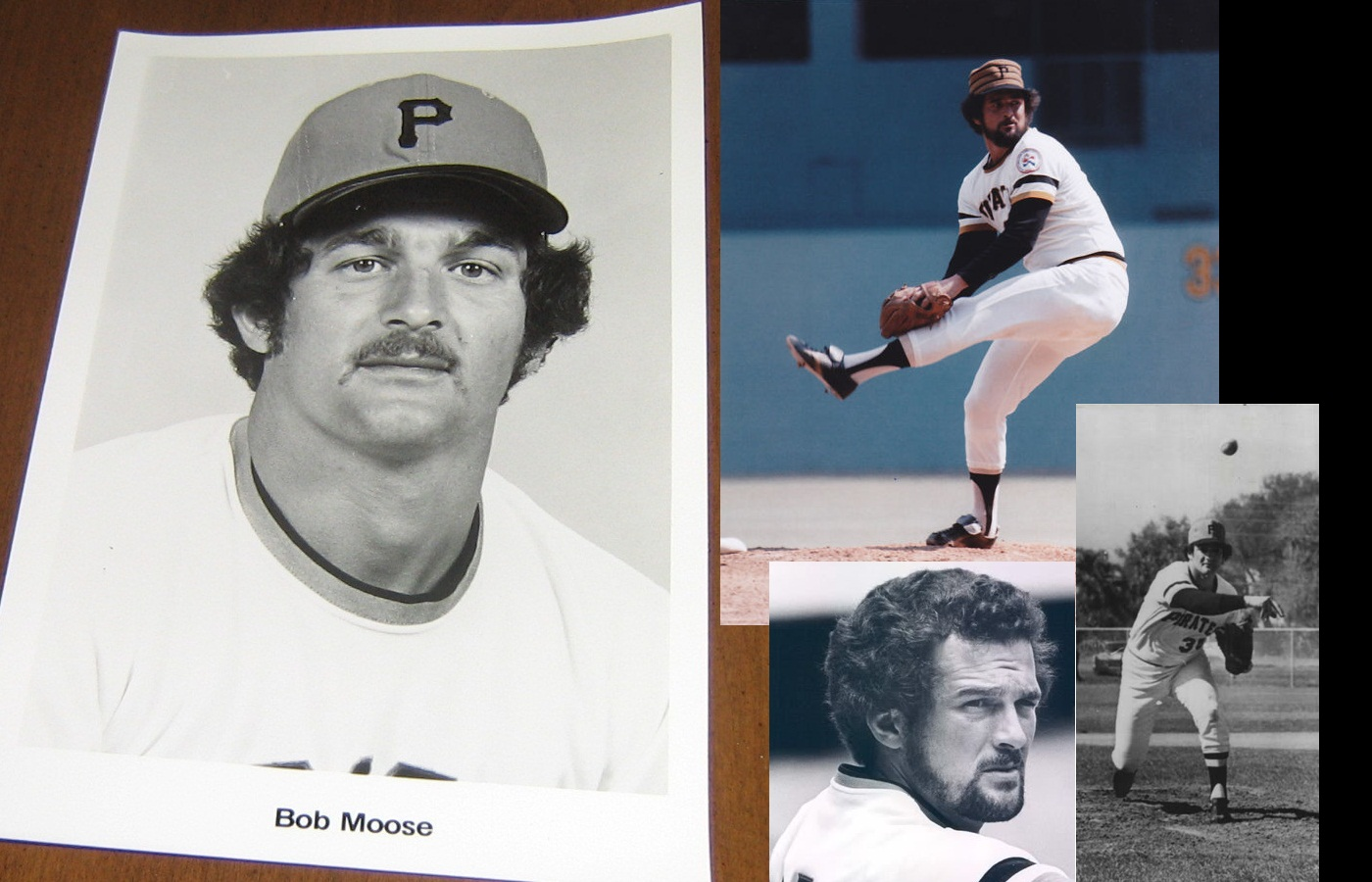 Bob Moose Pittsburgh Pirates Pitcher