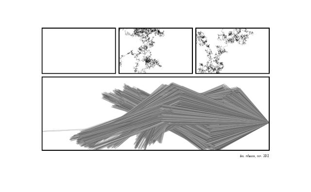 bande-dessinée abstraite et aléatoire par mfausse