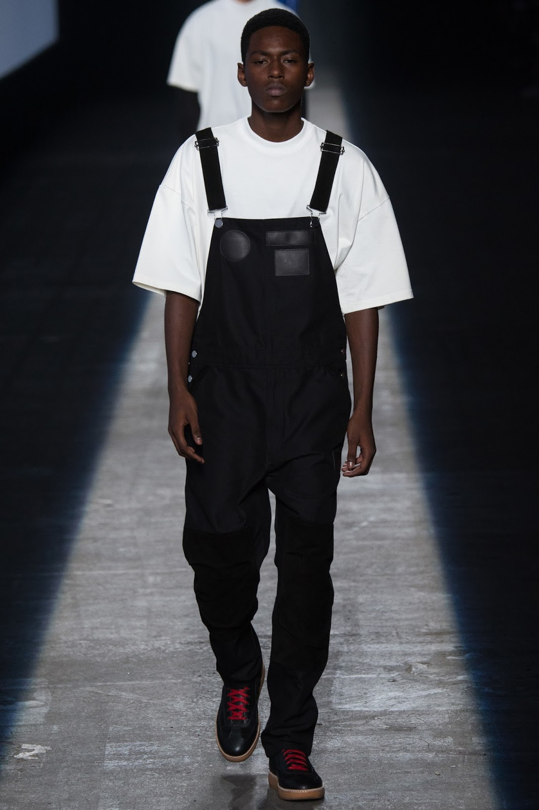 NYFW new york fashion week dungarees menswear