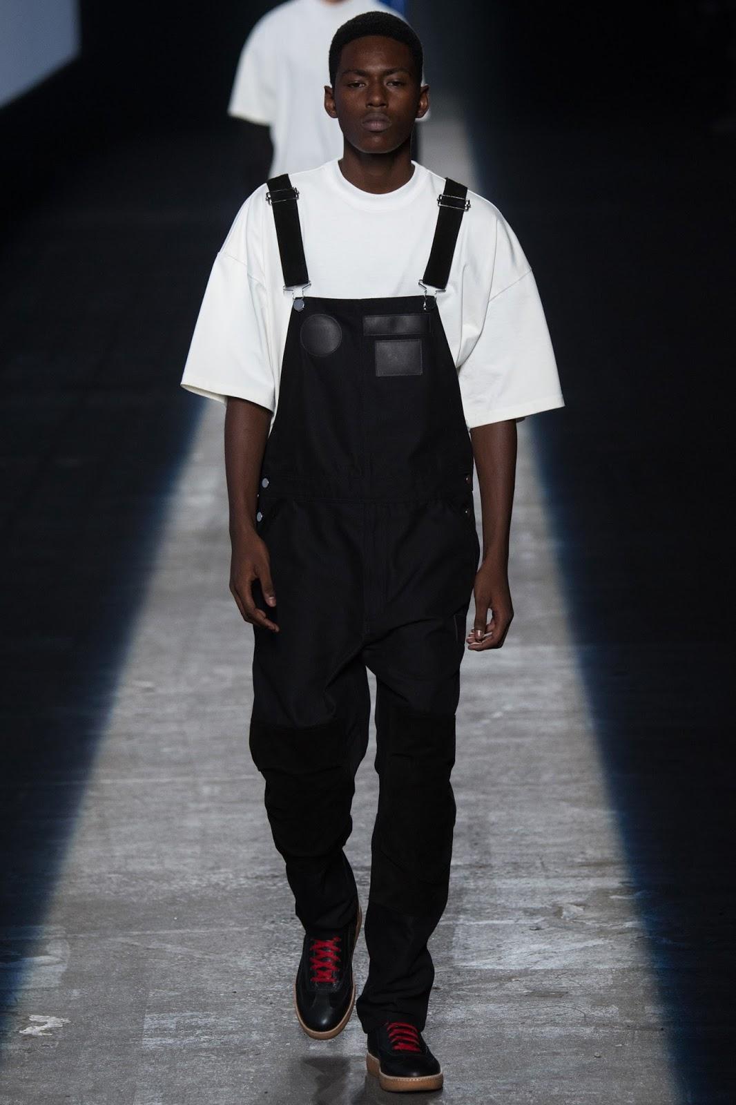 NYFW new york fashion week dungarees menswear