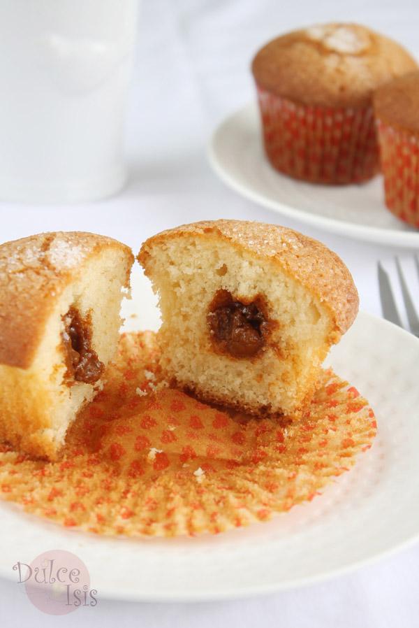 Muffins de Dulce de Leche (Manjarblanco)